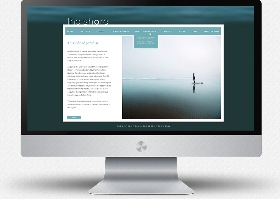 The Shore Website: Lifestyle