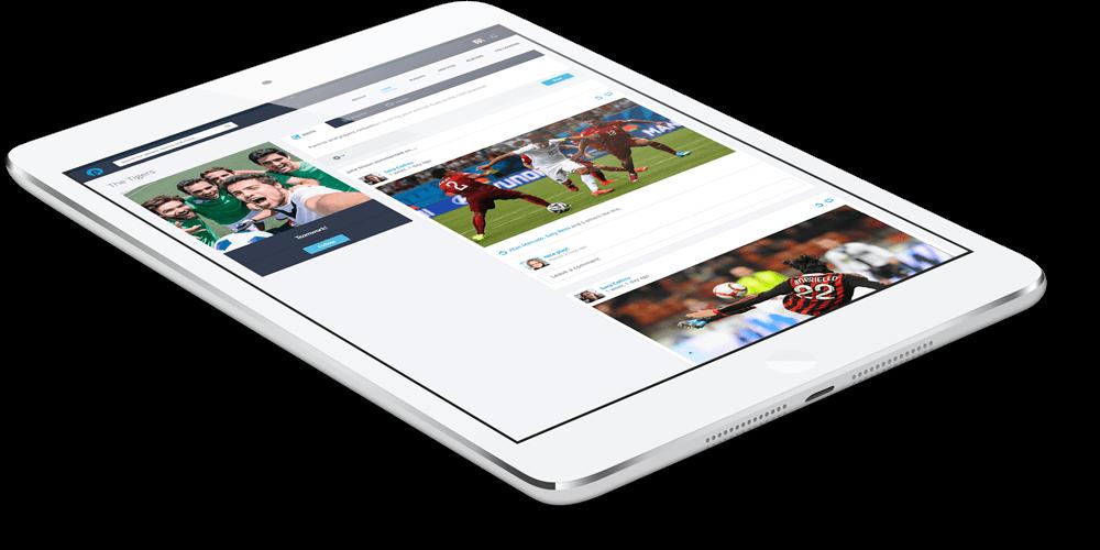 PlayyOn App Tablet (responsive)