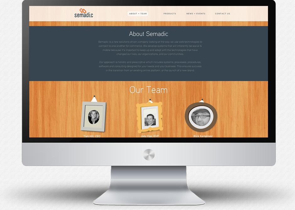 Semadic Website Comp