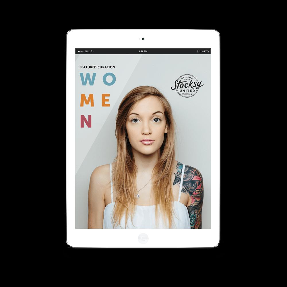 Women Newsletter Template Concept