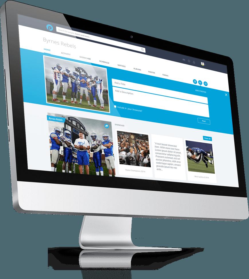 PlayyOn App: Team Profile